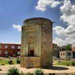 مقبره سه گنبد برج آجری زیبا در ارومیه