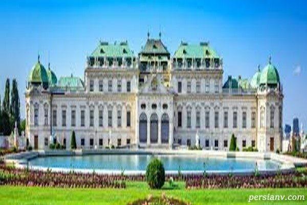 کاخ هافبورگ از بهترین بناهای تاریخی اتریش