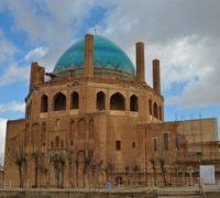 گنبد سلطانیه از جاذبه های دیدنی زنجان + تصاویر