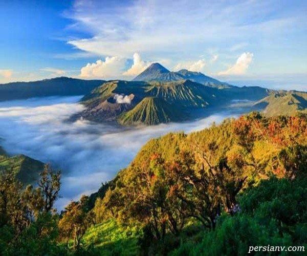 شگفت انگیز ترین آتشفشان های جهان را بیشتر بشناسید