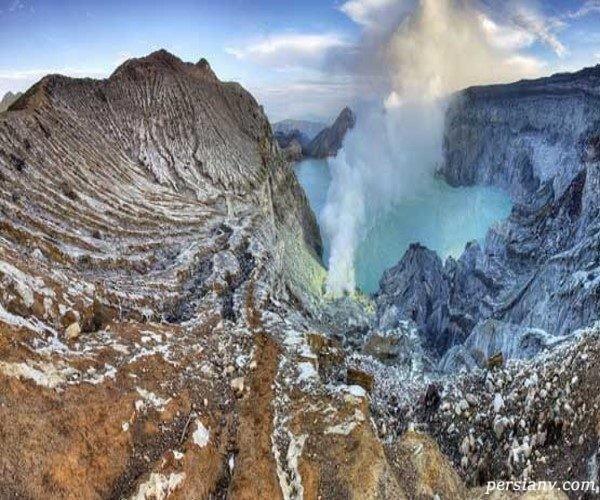 آتشفشان های جهان