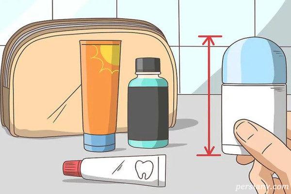 بستن چمدان
