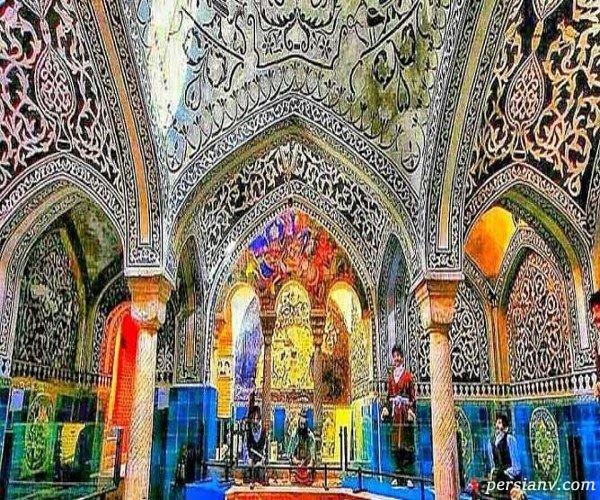 حمام حاج آقا تراب از جاذبه های زیبای همدان