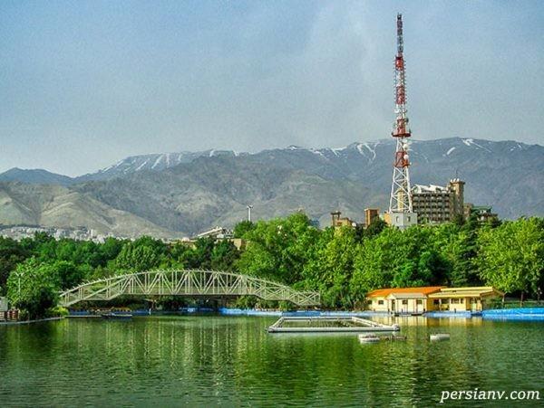 دریاچه پارک ملت جاذبه ای دیدنی در پایتخت+تصاویر