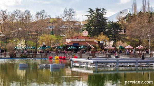 دریاچه پارک ملت