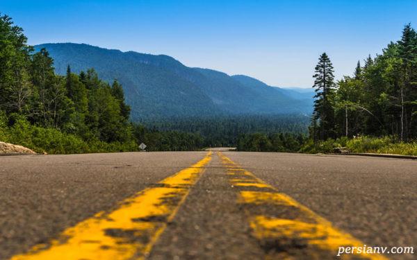 مسیر سفر جاده ای
