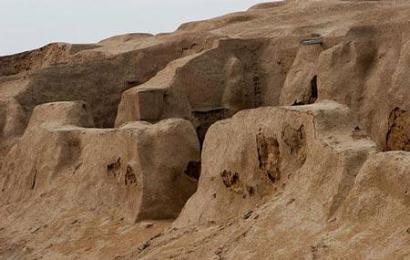 محوطه باستانی هفت تپه+تصاویر