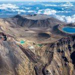 دریاچه آتشفشانی در پارک ملی تانگاریرو +تصاویر