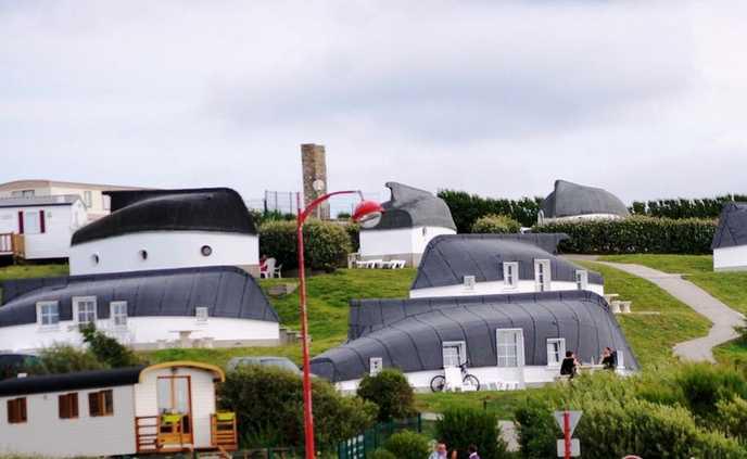 خانه های قایقی در فرانسه