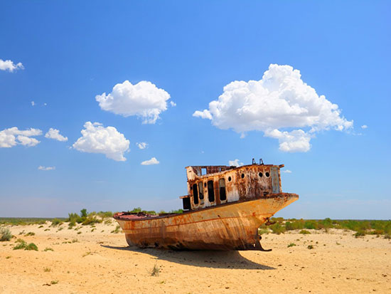 گورستان کشتی های میناق