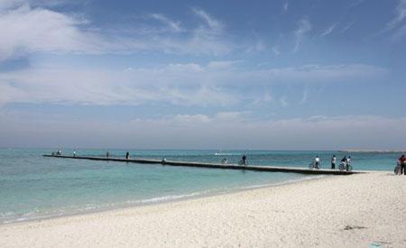 پارک ساحلی مرجان یکی از زیباترین مراکز دیدنی کیش +تصاویر
