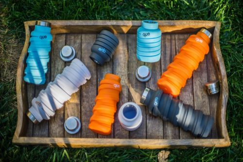 ابزار سفر| بطری آب تاشو برای راحتی در سفر+تصاویر
