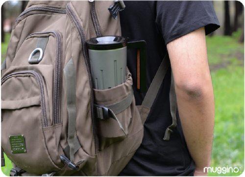 لیوان هوشمند سفر که میتوانید از آن برای شارژ کردن وسایل الکترونیکی استفاده کنید+تصاویر