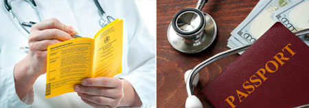 ایمن سازی برای بیماری قبل از سفر+تصاویر