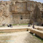 آرامگاه اردشیر دوم دردامنه کوه رحمت تخت جمشید+عکس
