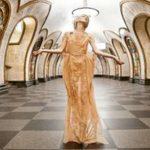 زیباترین متروی جهان در مسکو+تصاویر