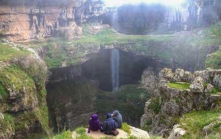 غاری تماشایی در لبنان + تصاویر