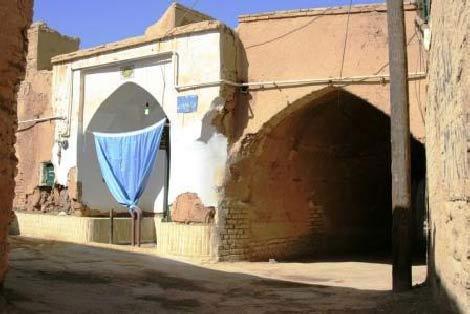 مسجدی به نام آرد خرما +عکس