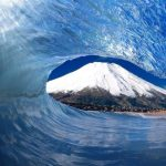 کوه فوجی آتشفشان خاموش ژاپن+تصاویر
