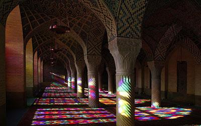 مساجد تاریخی شیراز + تصاویر دیدنی
