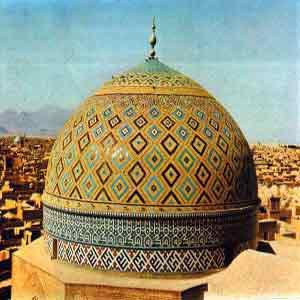 بلندترین مناره جهان درمسجد جامع یزد+تصاویر