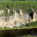 جنگل سنگی لنا,جاذبه ای جذاب در روسیه+تصاویر