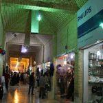 بازار صفین کیش با معماری سنتی +تصاویر