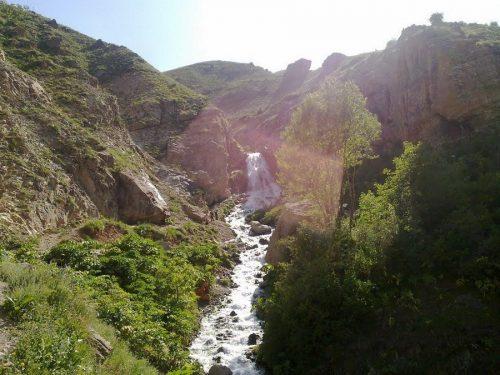 آبشار شکرآب و طبیعتی لذت بخش در فصل گرم +تصاویر