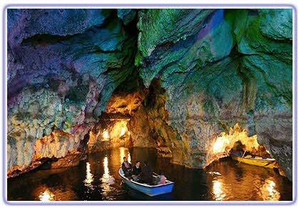 غار سهولان دومین غار آبی ایران +عکس