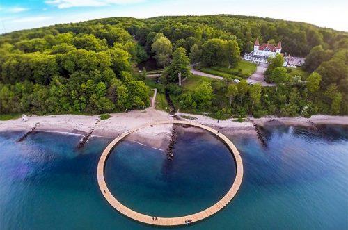 پلی بی نهایت که جاذبه ای دیدنی در دانمارک شده است+تصاویر