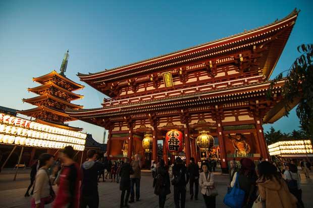 جاذبه های دیدنی توکیو این شهر توریستی بسیار زیبا + تصاویر