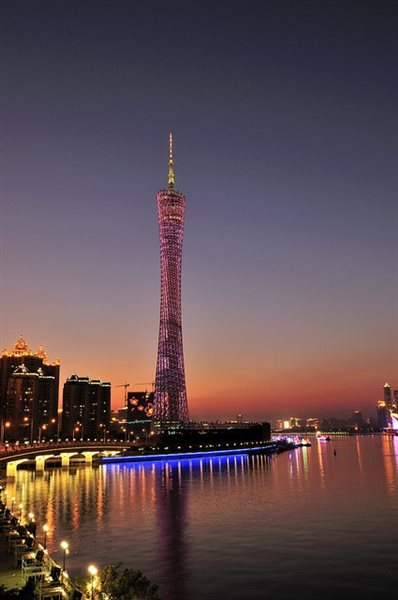 برج کانتون گوانگ ژو +تصاویر