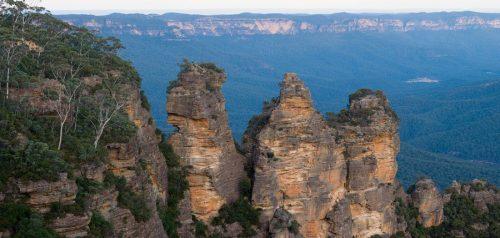 سه خواهر,کوه هایی بسیار دیدنی و زیبا در استرالیا+تصاویر