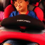 ماشین زدگی کودکان در سفر+عکس