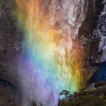 آبشار آتشین در آمریکا+تصاویر