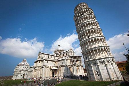 پیزا؛ جالبترین و قدیمیترین برج جهان +تصاویر