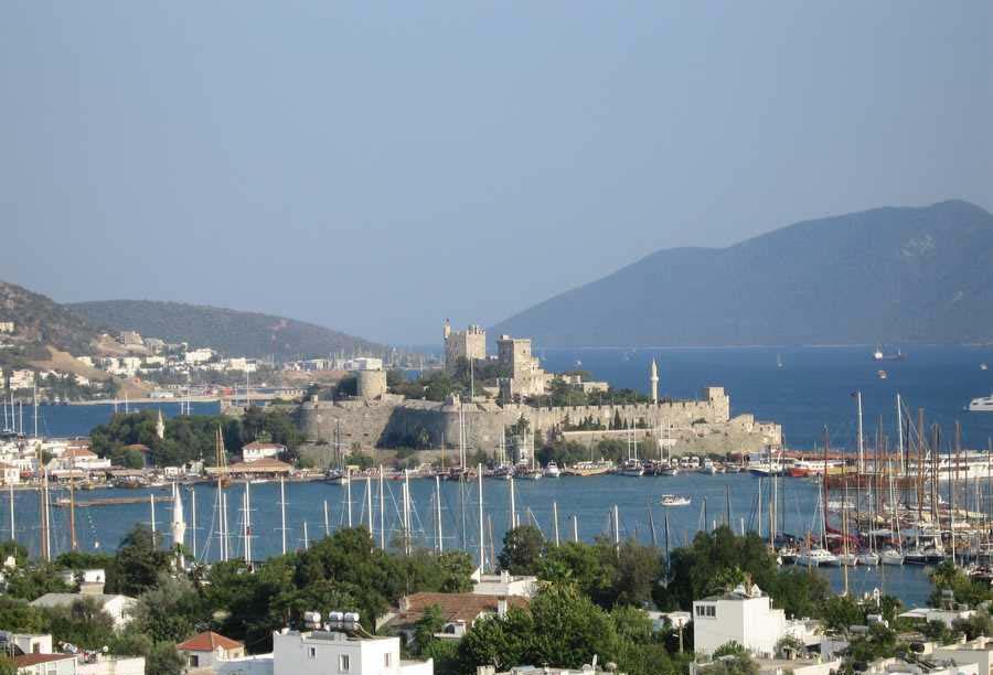 دیدنیها و شنیدنی هایی جذاب درباره قلعه ی بدروم ترکیه