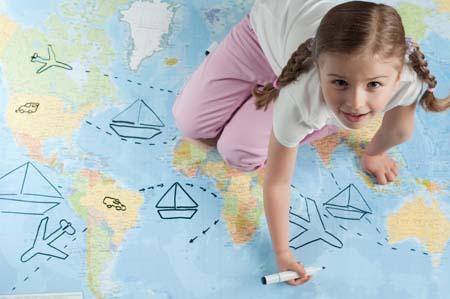 ایمنی کودکان در سفر