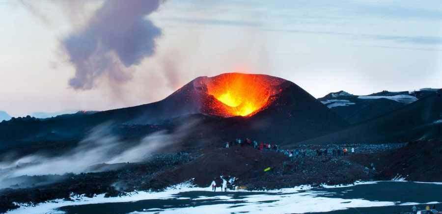موزه آتشفشان در کشور ایسلند جاذبه ای جدید برای گردشگران