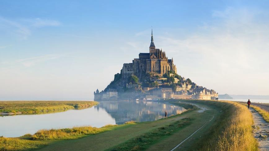 جزیره مونت سنت میشل پربازدیدترین جاذبه فرانسه