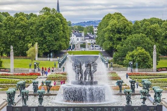 باغ های زیبای اروپایی