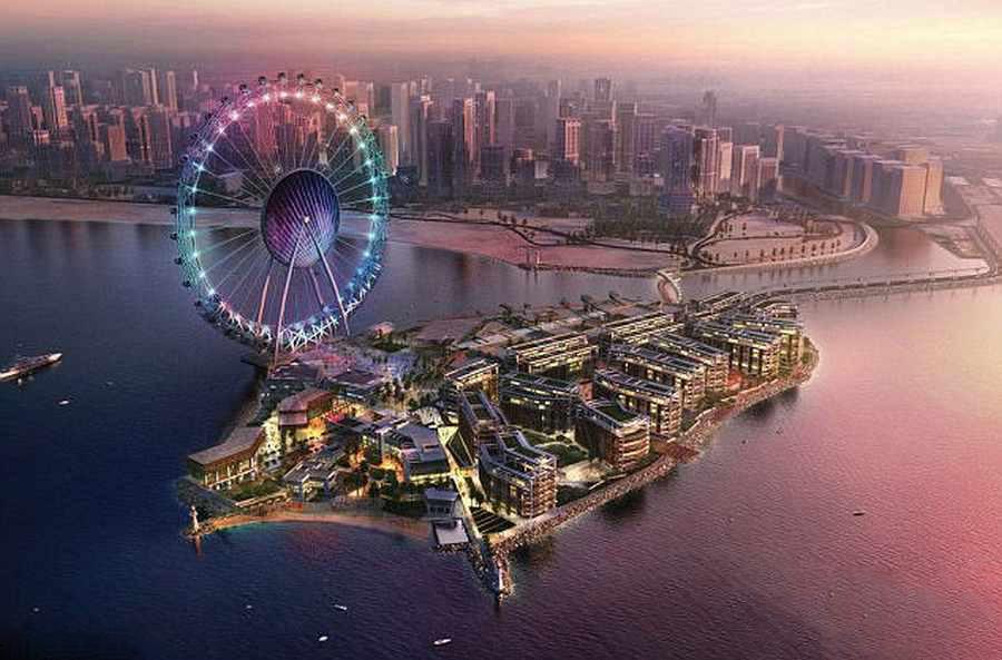 بزرگ ترین چرخ فلک دنیا را در دبی ببینید