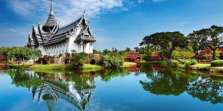زمان سفر به تایلند