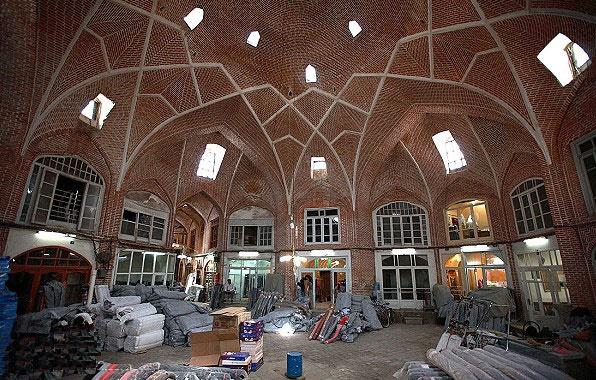 بازار قدیمی و سرپوشیده تبریز