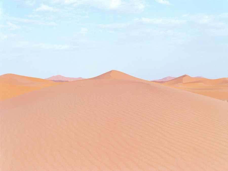 رنگ آمیزی زیبا که در کویر مراکش شاهد آن خواهید بود
