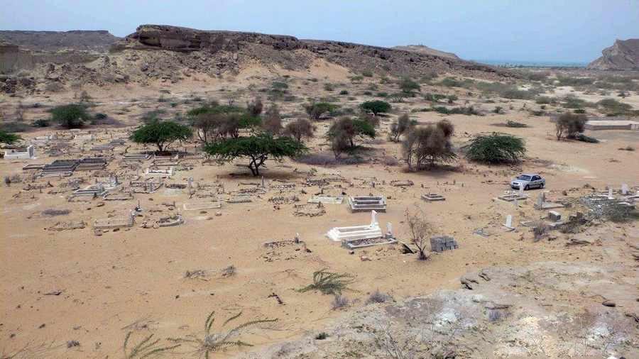 گورستان جن ها در سیستان و بلوچستان