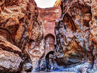 طاق شاه عباسی یزد نازکترین سد جهان در ایران