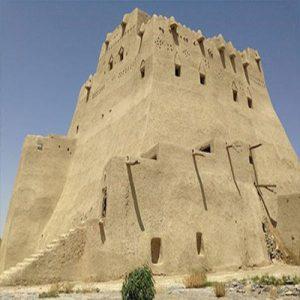 قلعه سب سالم ترین بنای تاریخی در سیستان و بلوچستان