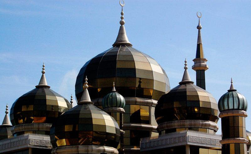 مسجد کریستالی در مالزی