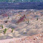 سفر به تپه های شنی رنگارنگ پارک ملی لاسن کالیفرنیا